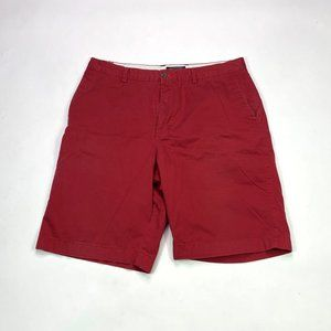 Banana Republic Clean City Mens Size 36 Red Shorts